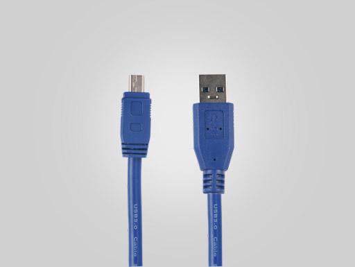USB3.0  AM TO MINI 10PIN  OD5.5   BLUE