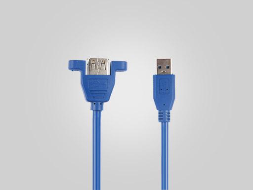 USB3.0  AM TO AF  OD5.5   BLUE