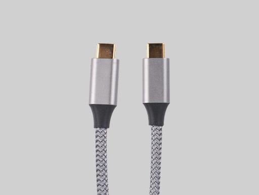 3.1TC Aluminum Alloy Gray Braided Wire Nickel Plating Head