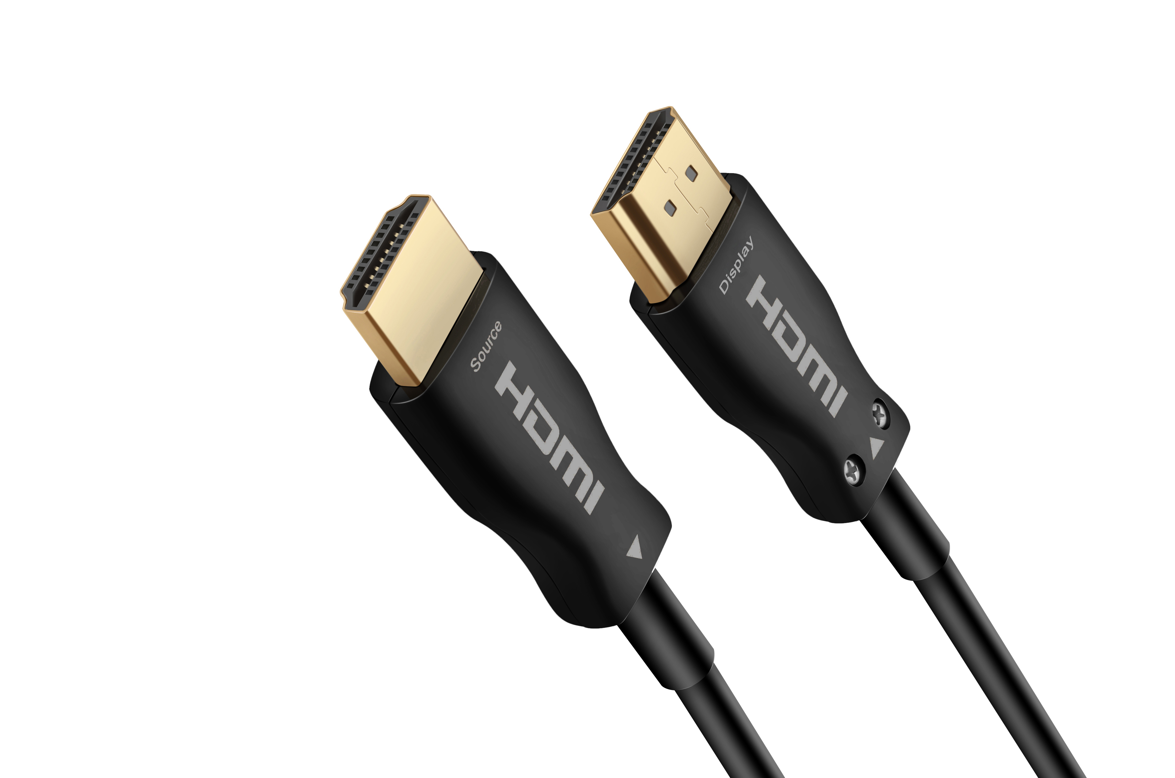 HDMI 2.0  4K 有源光纤 黑色 黑芯